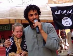 Estado Islâmico Leiloa Menina