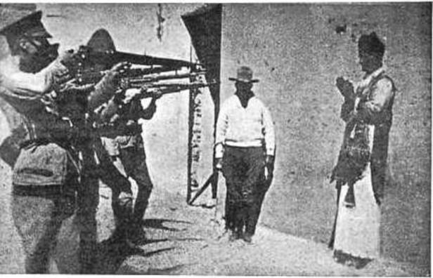 Guerra Civil Espanhola - Padre fuzilado 2