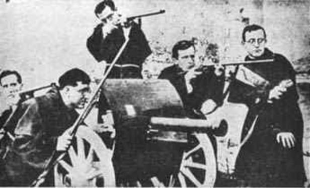 Guerra Civil Espanhola - religiosos