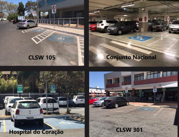 Quatro Estacionamentos