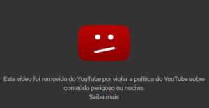 Vídeo Removido