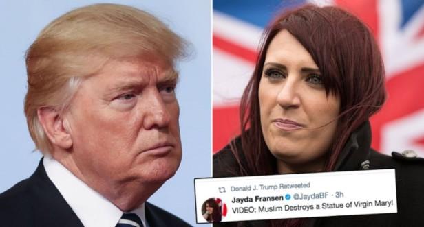 Trump & Jayda Fransen