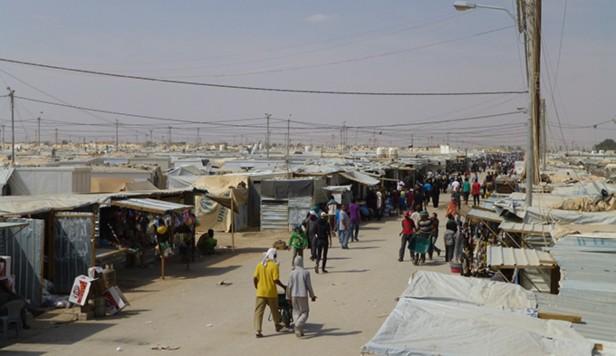 Campo Refugiados Jordânia