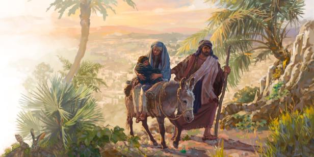 Jesus maria jose egito