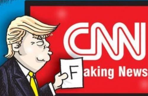 cnn faking news