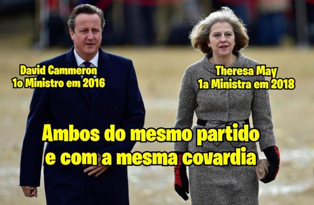 Cammeron e Theresa May