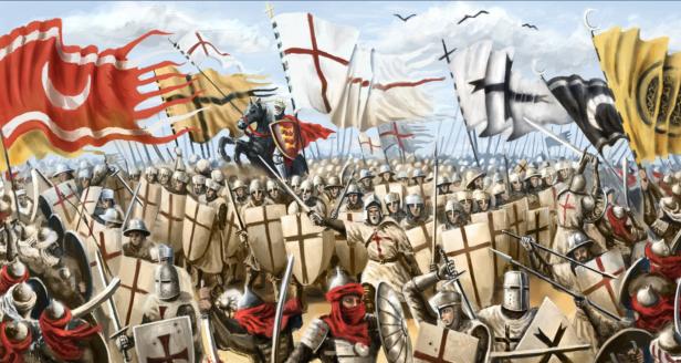 Cruzados x Muçulmanos