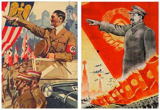 HitlerStalin propaganda