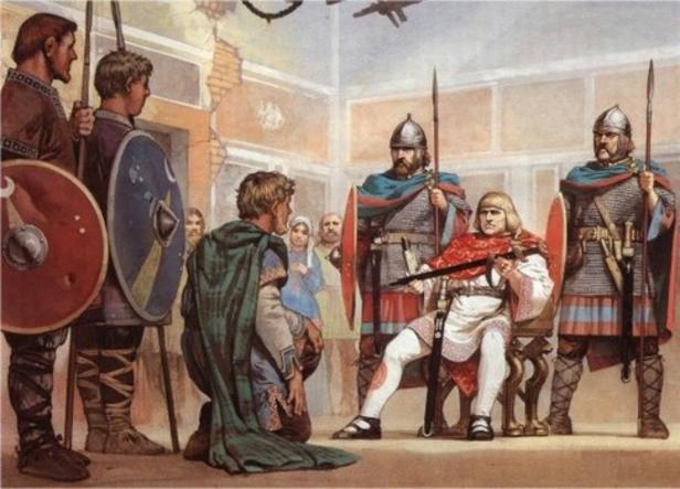 A Queda de Roma 1a