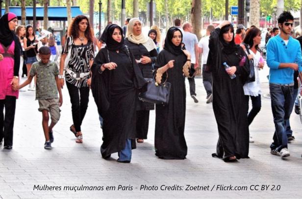 Mulheres Muçulmanas em Paris