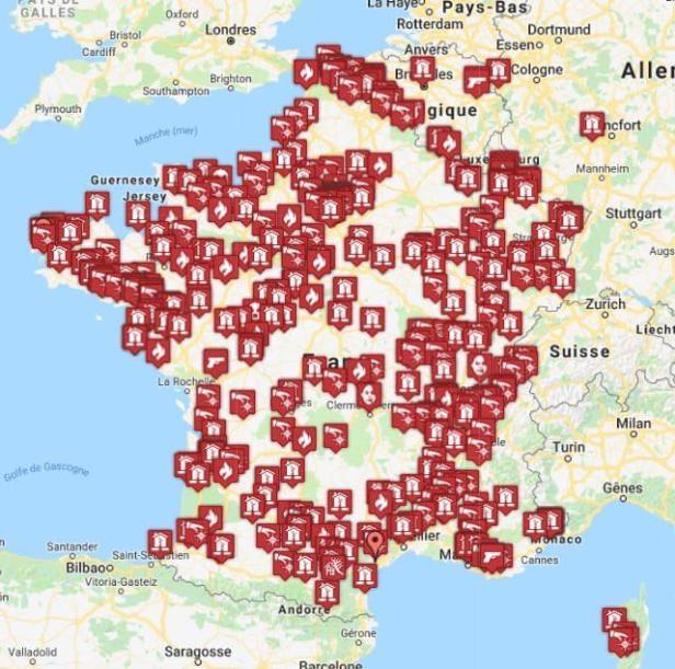Notre Dame Ataques Igrejas