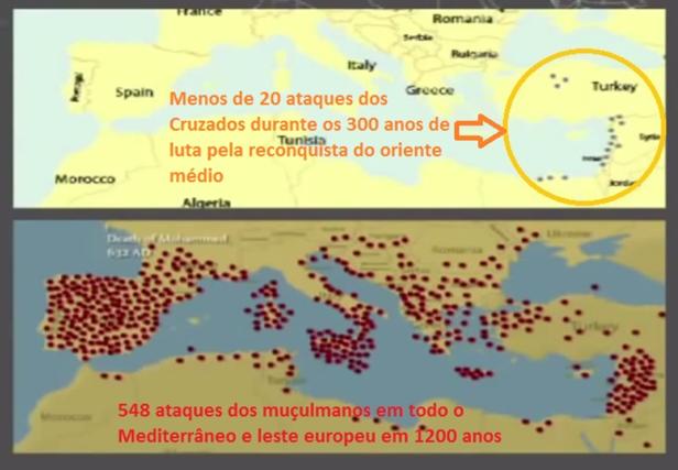 1400 ataques dos Cruzados