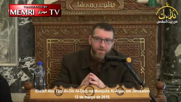 Clérigo Exorta Muçulmanos a Conquistarem a França