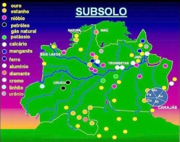 O Tal Fundo da Amazônia_Mapa