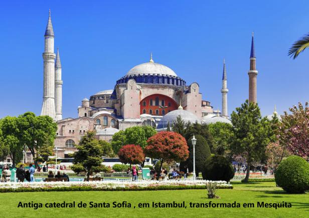 Porque Muçulmanos não se Integram Hagia Sofia
