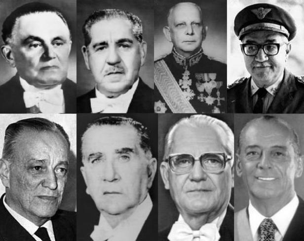 Golpistas Militares_Presidente 1964