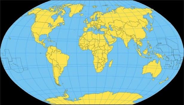 Estamos Caminhando Para um Império_Mapa Mundi